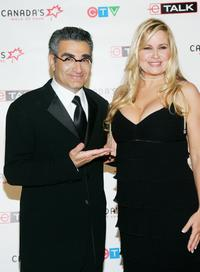 Eugene Levy and Jennifer Coolidge at the Canada's Walk Of Fame Gala.