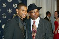 Usher and Terry Lewis at the Hero Awards.