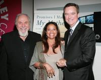 George Schlatter, Debbie Allen and Sam Haskell at the celebration honoring Haskell and the publication of his memoir