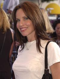 Sarah Buxton at the premiere of