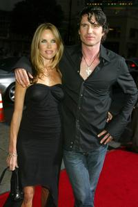 Sarah Buxton and Shane Brolly at the premiere of