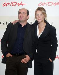 Antonio Albanese and Margherita Buy at the photocall of