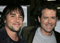 Richard Linklater and actor Greg Kinnear at the Los Angeles premiere of