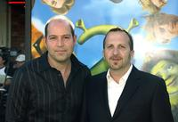 David Lipman and Aron Warner at the Los Angeles premiere of