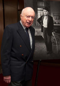 Norman Lloyd at the California premiere of