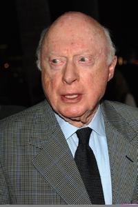 Norman Lloyd at the Academy of Motion Pictures Arts and Sciences Theater for premiere of the Twentieth Century Foxs