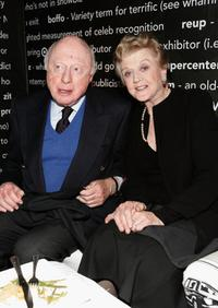 Norman Lloyd and Angela Lansbury at The Historic Beverly Hills Post Office for Varietys Centennial Gala Presented by Target.