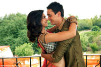 Deepika Padukone as Aaliya and Imran Khan as Abhay in ``Break Ke Baad.''