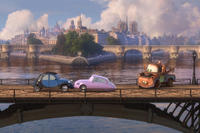 A scene from ``Cars 2.''