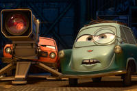 Grem and Professor Z in ``Cars 2.''