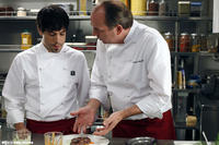 Unax Ugalde as Daniel and Herbert Knaup as Thomas in ``Bon Appetit.''