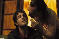 Jim Sturgess as Jamie and Joseph Mawle as Papa B in ``Heartless.''