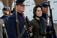 Robin Wright as Mary Surratt in ``The Conspirator.''