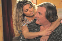 Sophie Guillemin as Annette and Gerard Depardieu as Germain Chazes in ``My Afternoons with Margueritte.''