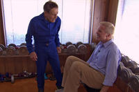 Jack LaLanne and Mark Wexler in ``How to Live Forever.''