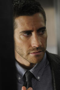 Jake Gyllenhaal as Colter Stevens in ``Source Code.''