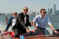 Richard Jenkins as Mr. Harper, Woody Harrelson as Tommy and Justin Timberlake as Dylan in ``Friends with Benefits.''