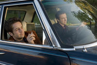 Michael Angarano as Sam Davis and Reece Thompson as Marshall Schmidt in ``Ceremony.''