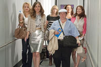 Wendi McLendon-Covey as Rita, Rose Byrne as Helen, Kristen Wiig as Annie, Melissa McCarthy as Megan,  Maya Rudolph as Lillian and Ellie Kemper as Becca in ``Bridesmaids.''