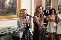 Kristen Wiig as Annie and Rose Byrne as Helen in ``Bridesmaids.''
