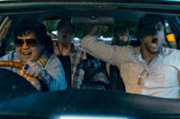 Ken Jeong as Mr. Chow, Ed Helms as Stu, Zach Galifianakis as Alan and Bradley Cooper as Phil in ``The Hangover Part II.''