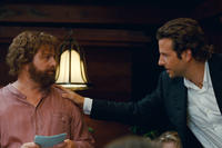 Zach Galifianakis as Alan and Bradley Cooper as Phil in ``The Hangover Part II.''