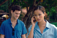 Justin Bartha as Doug and Jamie Chung as Lauren in ``The Hangover Part II.''