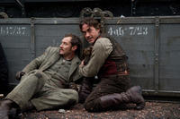 Robert Downey Jr. and Jude Law in