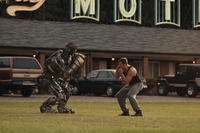 1Atom and Hugh Jackman as Charlie Kenton in ``Real Steel.''