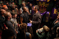 Anthony Mackie as Finn and Hugh Jackman as Charlie Kenton in ``Real Steel.''