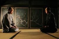 Mikijiro Hira as Sir Doi and Koji Yakusho as Shinzaemon Shimada in ``13 Assassins.''