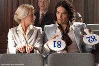 Helen Mirren as Hobson and Russell Brand as Arthur in ``Arthur.''