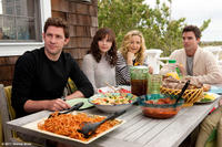 John Krasinski as Ethan, Ginnifer Goodwin as Rachel, Kate Hudson as Darcy and Colin Egglesfield as Dex in ``Something Borrowed.''