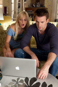 Anna Faris as Ally Darling and Chris Evans as Colin Shea in ``What's Your Number?.''