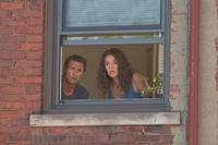 Jason O'Mara as Joseph Morelli and Katherine Heigl as Stephanie Plum in ``One for the Money.''