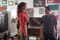 Katherine Heigl as Stephanie Plum and John Leguizamo as Jimmy Alpha in ``One for the Money.''