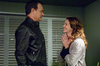 Tom Hanks as Larry Crowne and Julia Roberts as Mercedes Tainot in ``Larry Crowne.''