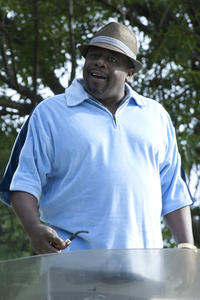 Cedric the Entertainer as Lamar in ``Larry Crowne.''