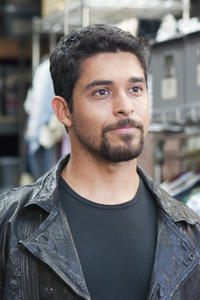 Wilmer Valderrama as Dell Gordo in ``Larry Crowne.''