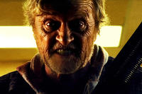 Rutger Hauer as Hobo in ``Hobo with a Shotgun.''