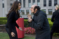 Sofia Vergara as Odile and Hank Azaria as Gargamel in ``The Smurfs.''