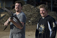 Danny McBride as Dwayne and Nick Swardson as Travis in ``30 Minutes of Less.''