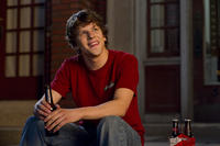 Jesse Eisenberg as Nick in ``30 Minutes or Less.''