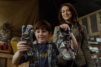 Mason Cook as Cecil Wilson and Alexa Vega as Carmen Cortez in ``Spy Kids: All the Time in the World.''