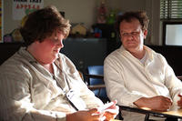 Jacob Wysocki as Terri and John C. Reilly as Mr. Fitzgerald in ``Terri.''