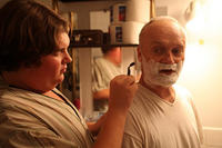 Jacob Wysocki as Terri and Creed Bratton as Uncle James in ``Terri.''