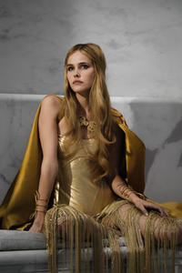 Isabel Lucas as Athena in ``Immortals.''