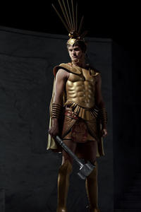 Daniel Sharman as Ares in ``Immortals.''