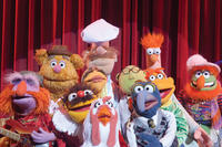 Floyd Pepper, Fozzie Bear, Lew Zealand, Janice, Swedish Chef, Camilla The Chicken, Dr. Bunsen Honeydew, Gonzo, Scooter, Beaker and Dr. Teeth in ``The Muppets.''