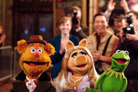 Fozzie Bear, Miss Piggy and Kermit the Frog in ``The Muppets.''